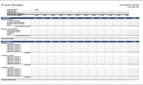 Construction Project Template Excel Construction Project Budget Template Free Monthly