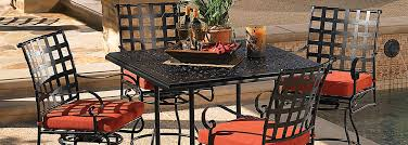 Lee Patio Furniture by Ow Lee Hacienda Cast Aluminum Tables Usa Outdoor Furniture