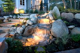 Backyard Waterfalls Ideas Nice Design Waterfall Backyard Beautiful 50 Pictures Of Backyard