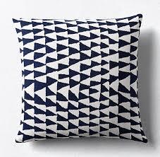 patio furniture black friday kerry joyce modi square pillow cover indigo white outdoor pillow