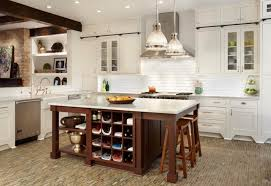 Kitchen Island With Open Shelves Kitchen Open Shelves Kitchen Island Holland Barstools White