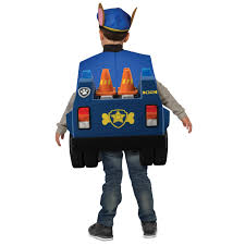 paw patrol halloween paw patrol chase deluxe toddler costume buycostumes com