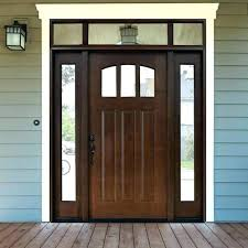 Exterior Door With Side Lights Exterior Doors With Sidelights And Transoms Pretzl Me