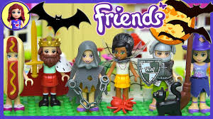 lego friends halloween dress up silly play kids toys youtube