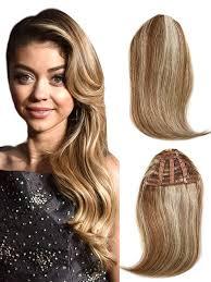 clip in bangs human hair bangs clip on bhf hair extensions