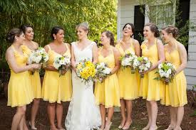 yellow bridesmaid dresses with sunflowers women u0027s style