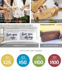 Ideas For Bridal Shower by Bridal Shower Gifts 2017 Bridal Shower Ideas Gifts Com