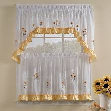 Trendy Kitchen Curtains by Modern Kitchen Curtains Will Improve Your Kitchen