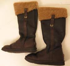 ugg australia s irmah boots ugg australia leather knee high boots for ebay