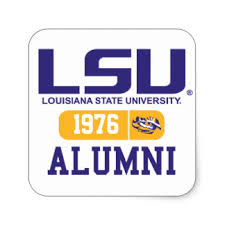 lsu alumni sticker lsu stickers zazzle