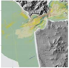 San Francisco Bay Map by New Maps Reveal Seafloor Off San Francisco Area