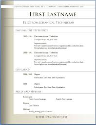 Resume Templates For Word 2007 by Resume Templates Microsoft Word 2007 Free Resume Template