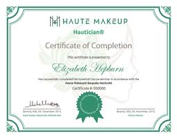 professional makeup artist certification courses haute makeup trains haute makeup bespoke method