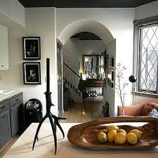 Charcoal Gray Kitchen Cabinets Light Gray Upper Cabinets Dark Gray Lower Cabinets Design Ideas