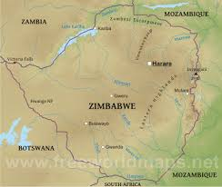 Lake Victoria Africa Map by X Zimbabwe Is A Landlocked Country It U0027s Surrounding Countries