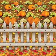 beistle 1 pack decorative pumpkin patch backdrop 4