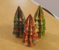 origami christmas tree style 3 how to fold an origami tree