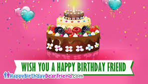 birthday dear friend greeting cards