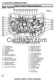 toyota electrical wiring diagrams wiring diagram byblank