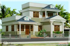 Home Design Plan And Elevation by Three Bedroom Villas House Plans Kerala Home Design And Floor