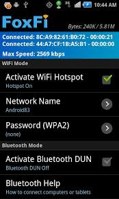 mobile hotspot apk foxfi wifi tether w o root android apps on play