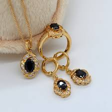 beautiful stone necklace images Fashion 18k real gold plated austria crystal women 39 s beautiful jpg