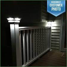4x4 post cap lights lighting post cap lighting solar post cap lights 6x6 white white