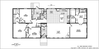 4 bedroom floor plan floorplans for wide manufactured homes solitaire homes