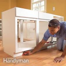 Handyman Kitchen Cabinets Installing Kitchen Cabinets Pictures Ideas From Hgtv With How To