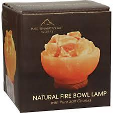 Amazon Com Pure Himalayan Salt Works 308469 Natural Fire Bowl L