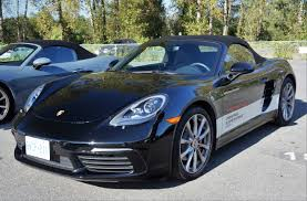 porsche car 4 door 2017 porsche 718 boxster s road and track test review carcostcanada