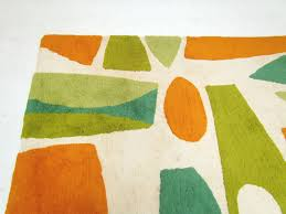 Rugs Modern by Mid Century Modern Abstract Area Rug Ca 1960s At 1stdibs