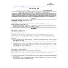 cpa resume exles accountant chrono sle cpa resume sle high school resume exles 28 images best custom paper writing
