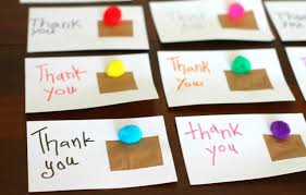 kids thank you cards crafty kids diy thank you cards classic play