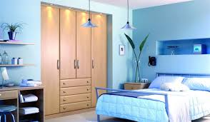 Elegant Light Blue Bedroom Design Color Powder Blue Movie Powder - Blue color bedroom ideas