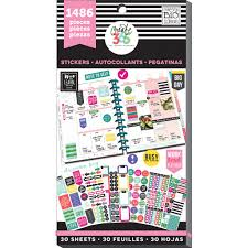buy the create 365 the happy planner value pack stickers buy the create 365 the happy planner value pack stickers everyday plans at michaels