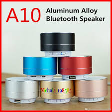Modern Speaker Best A10 Pk S10 Mini Wireless Bluetooth Speaker Modern Aluminum