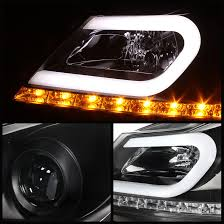 mercedes aftermarket headlights 2014 mercedes w204 c class led drl projector headlights