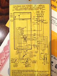 coleman furnace wiring schematics coleman wiring diagrams collection
