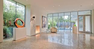 How To Stain A Concrete Basement Floor by Polished Concrete How To Polish Floors The Concrete Network