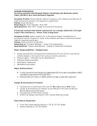 exle of a work resume suresh resume