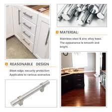 modern kitchen cabinet pull handles modern kitchen hardware handles brushed nickel 10 pack t16bss