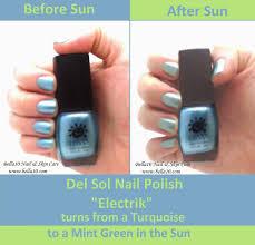 bella10 nails fun in the sun color changing nail polish part 2
