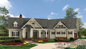 single craftsman style house plans craftsman ranch home exterior style ramblers single house