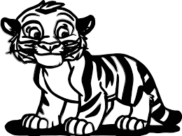 coloring pages tiger