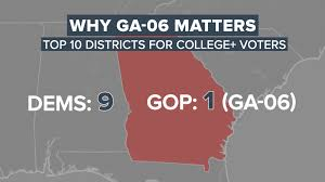 Nbc Election Map by Crunching The Numbers Does Georgia U0027s 6th Matter Nbc News