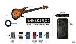 jason raso gear diagram wm bass gear diagrams bass guitar rig