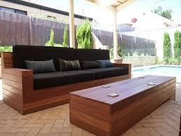 Wood Patio Chairs Patio Interesting Patio Furniture Wood Wood Patio Sofa Outdoor