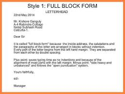 best solutions of block style letter margins with resume huanyii com