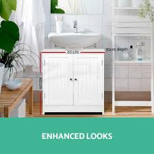 Sink Storage Bathroom Bathroom Pedestal Sink Storage